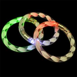 Rainbow Spiral Bangle Flashing Bracelet All Products