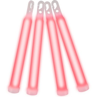 6 Inch Glow Sticks Red 6 Inch Glow Sticks