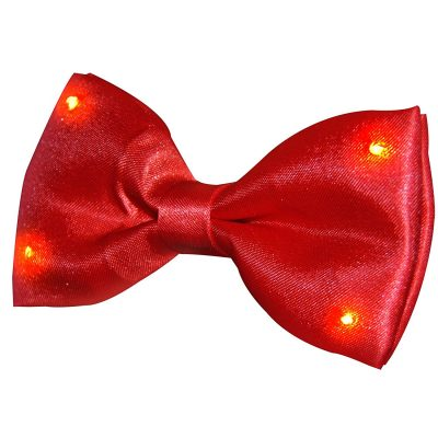 Red Bow Tie with Red LED Lights All Products