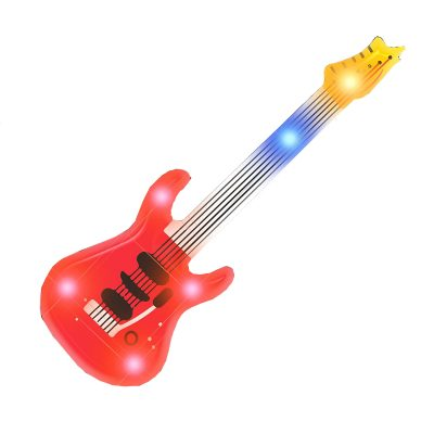 Red Guitar Flashing Body Light Lapel Pins All Products