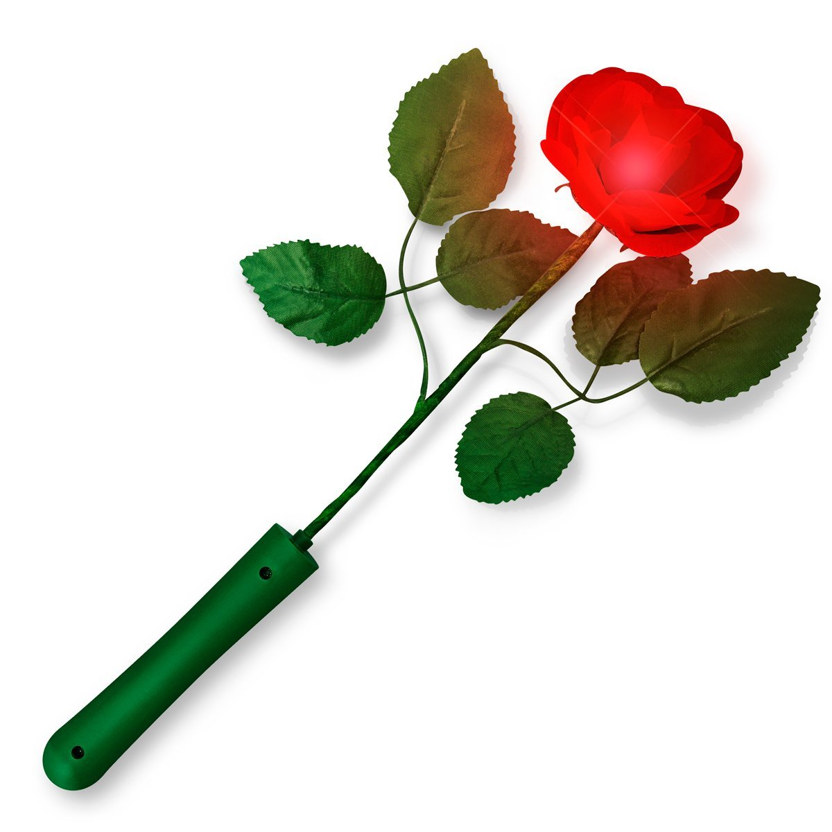 Red Rose with Red LEDs All Products