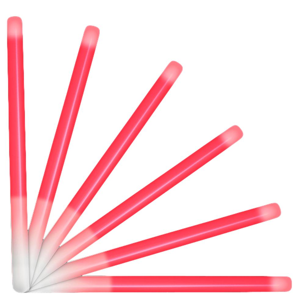 10 Inch Glow Stick Baton Red Pack of 25 All Products