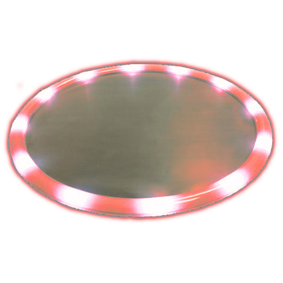 LED Serving Tray Red All Products