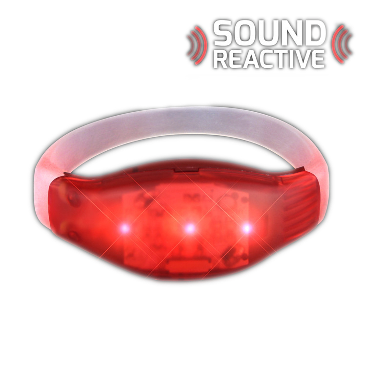 Sound Activated Red LED Bracelet All Products