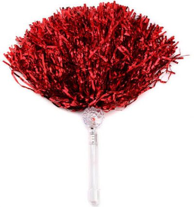 Light Up Pom Pom Red All Products