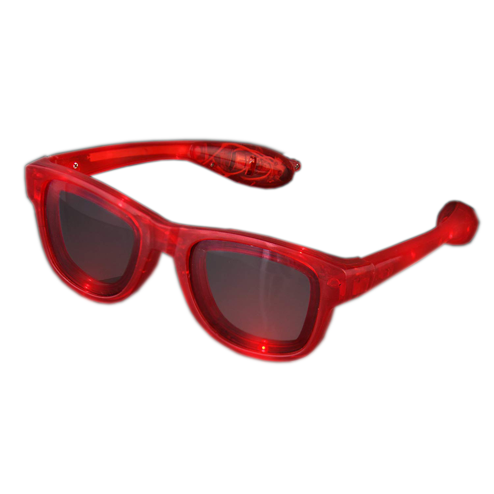 Red LED Nerd Glasses All Products