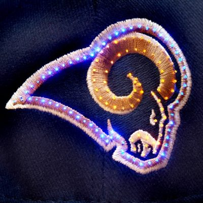 Saint Louis Rams Flashing Fiber Optic Cap All Products