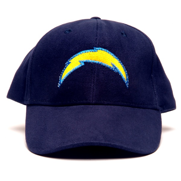San Diego Chargers Flashing Fiber Optic Cap All Products