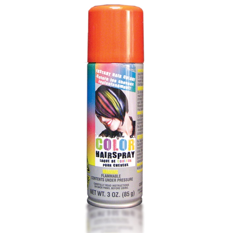Temporary Colored Hair Spray Orange All Products