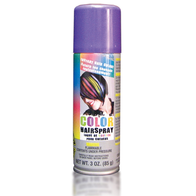 Temporary Colored Hair Spray Purple All Products