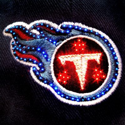 Tennessee Titans Flashing Fiber Optic Cap All Products