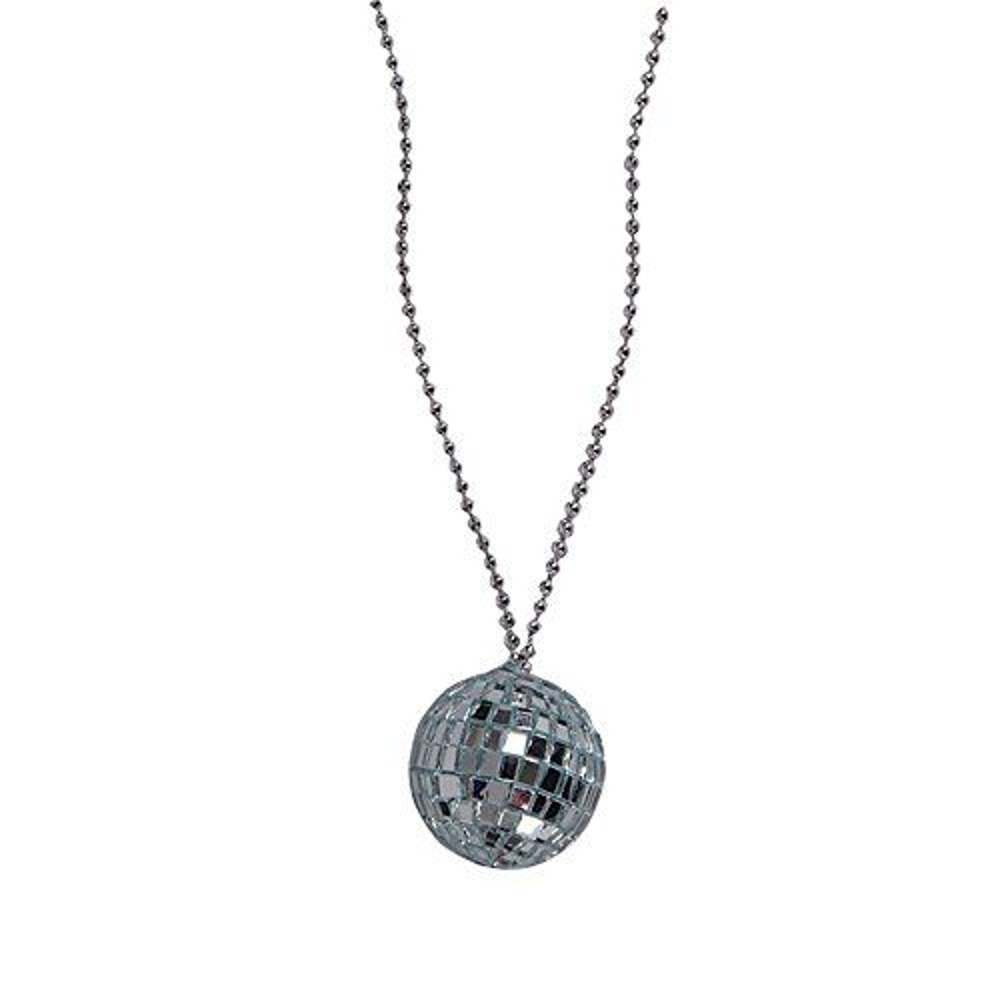 2 Inch Disco Ball Necklace All Products