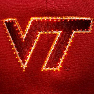 Virginia Tech Hokies Flashing Fiber Optic Cap All Products