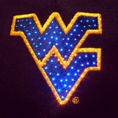 West Virginia Mountaineers Flashing Fiber Optic Cap All Products