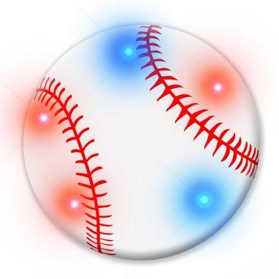 Baseball Flashing Body Light Lapel Pins All Products