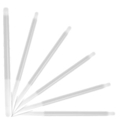 10 Inch Glow Stick Baton White Pack of 25 All Products