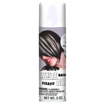 Temporary Colored Hair Spray White Non-Light Up Fun