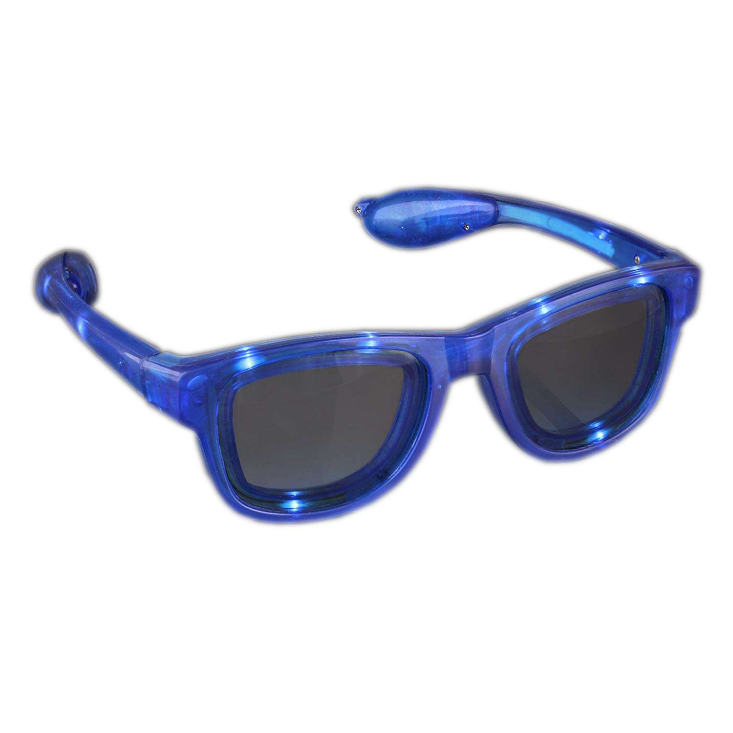 Blue LED Nerd Glasses All Products