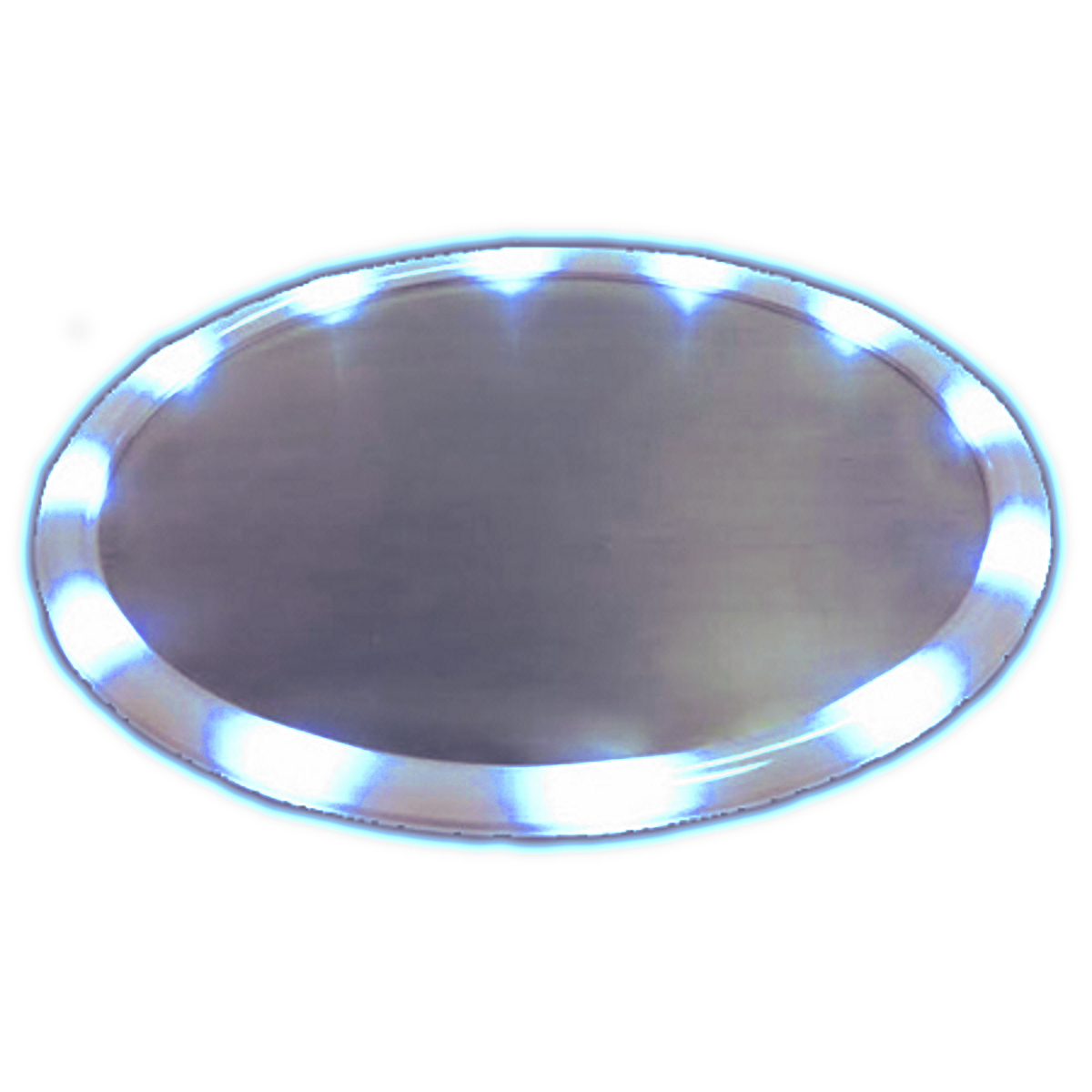 LED Serving Tray Blue All Products