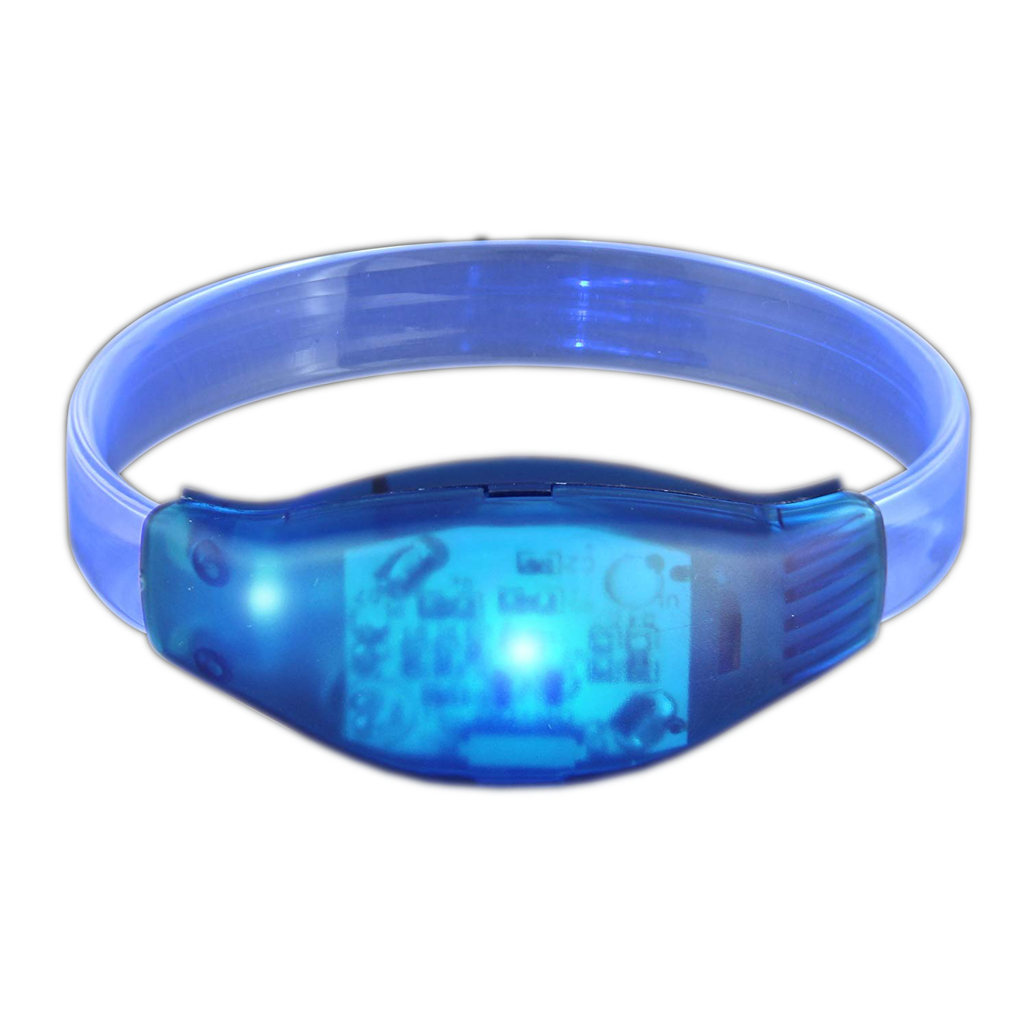 Sound Activated Blue LED Bracelet All Products