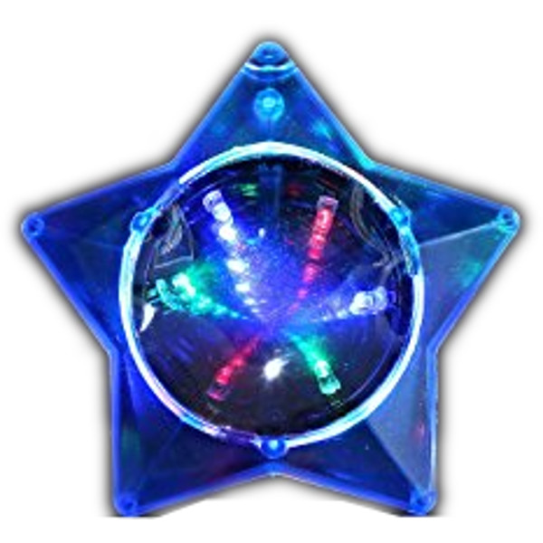 Blue Star Infinity Tunnel Necklace All Products
