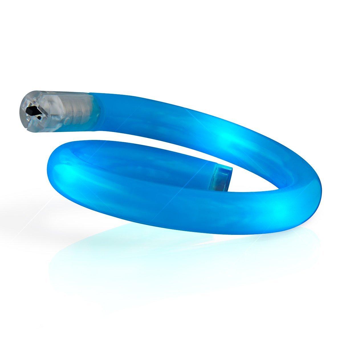 Light Up Tube Bracelet Blue All Products