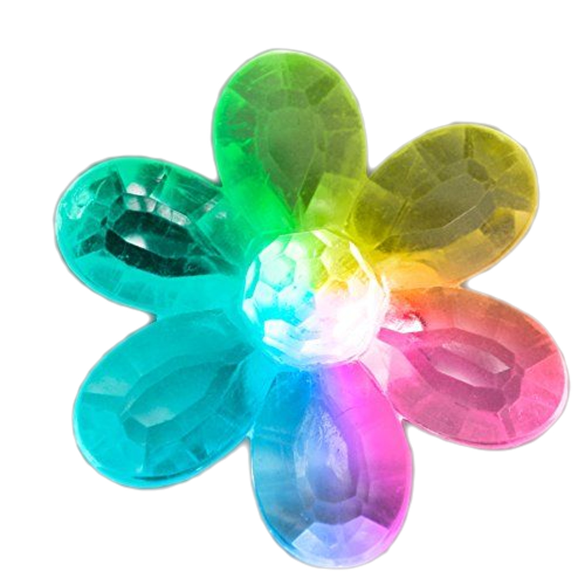 Color Changing LED Acrylic Flower Ring All Products