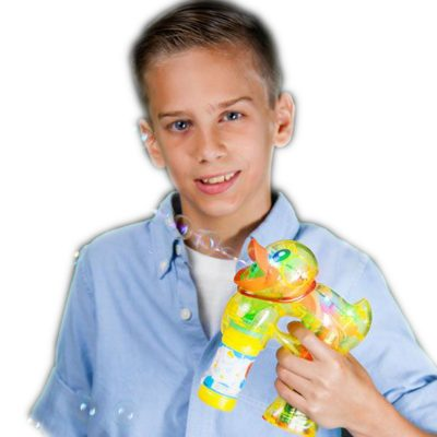 Light Up Ducky Bubble Gun All Products
