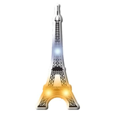 Eiffel Tower Flashing Body Light Lapel Pins All Body Lights and Blinkees