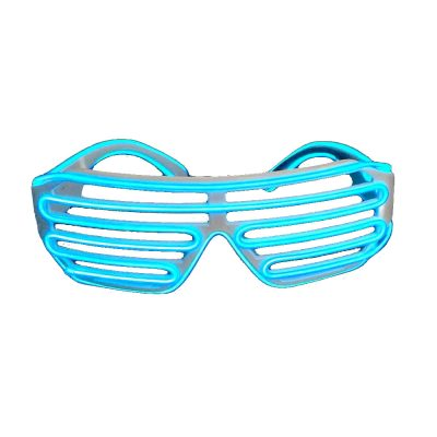 Electro Luminescent Shutter Shades Blue Blue