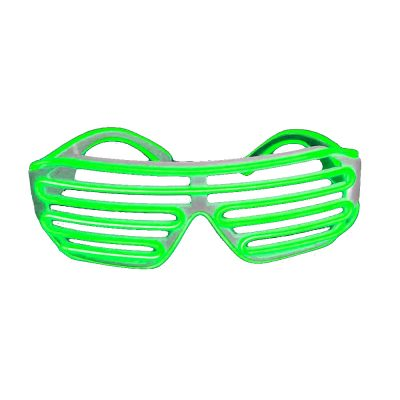 Electro Luminescent Shutter Shades Green Green