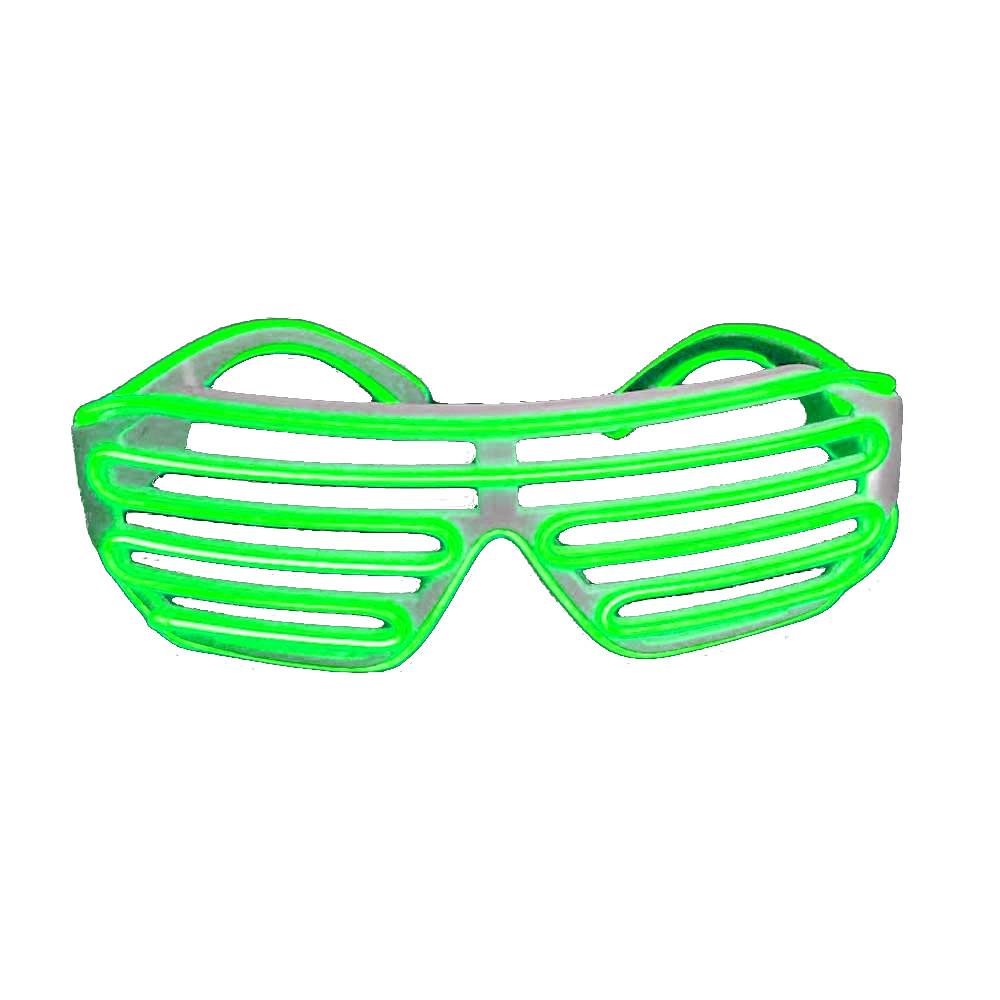 Electro Luminescent Shutter Shades Green All Products