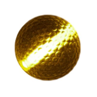 Glow Stick Golf Ball Orange Glow-in-the-Dark