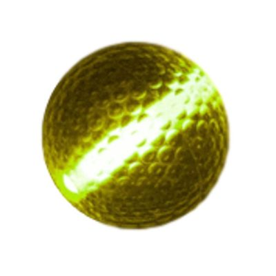 Glow Stick Golf Ball Yellow All Products