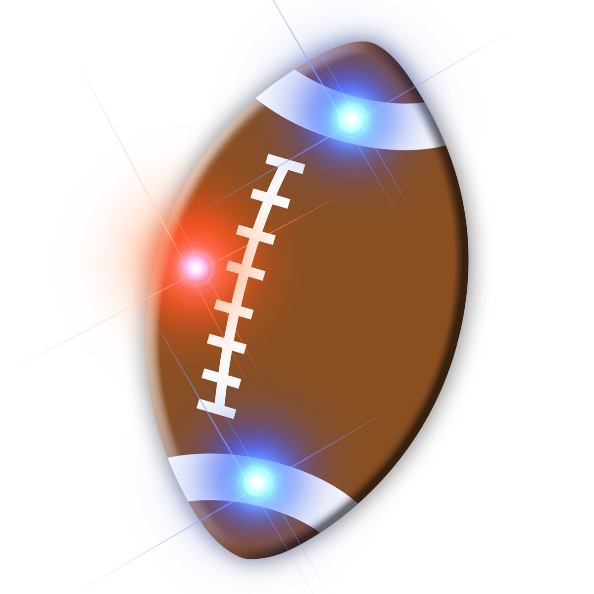 Football Flashing Body Light Lapel Pins All Products