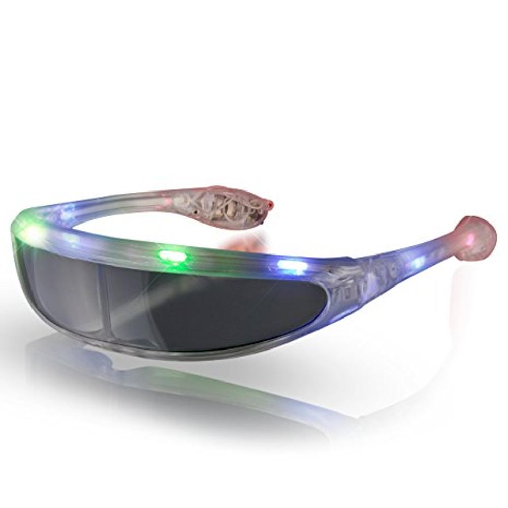 Futuristic LED Sunglasses Multicolor All Products