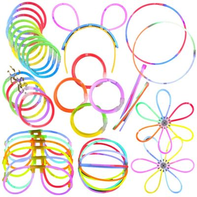 Glow Party Pack Assorted Designs and Colors Large Glow-in-the-Dark