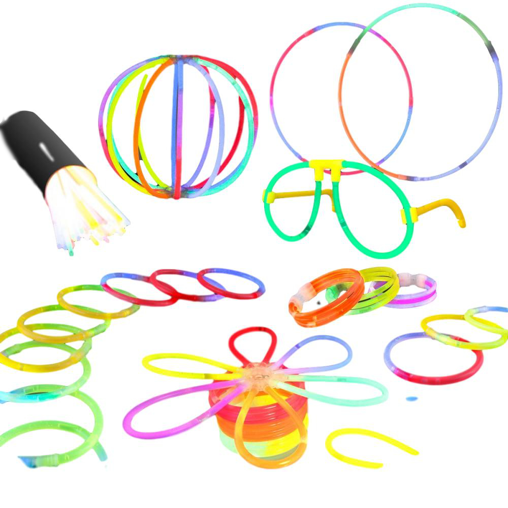 Glow Party Pack Assorted Designs and Colors Small All Products