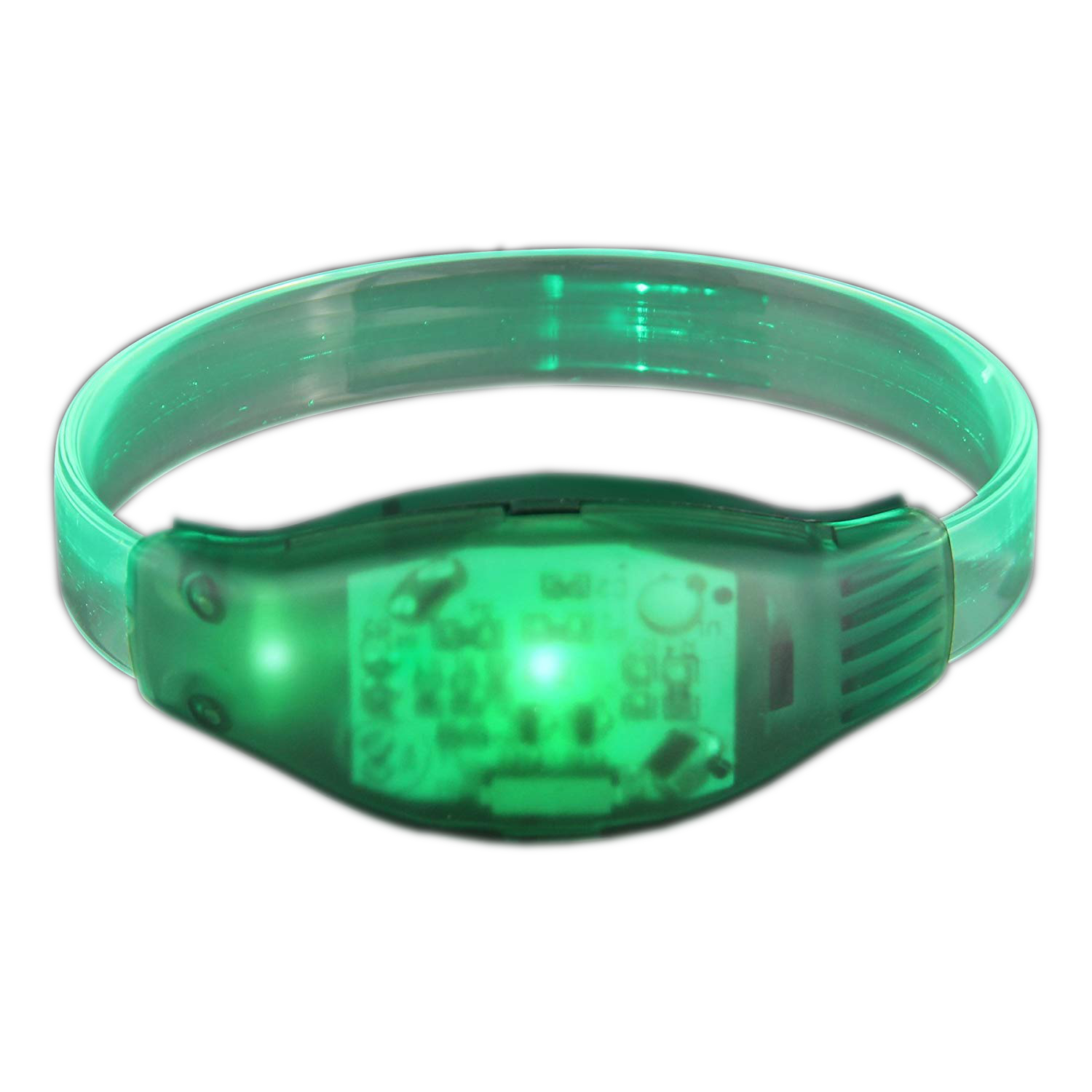 Sound Activated Green LED Bracelet All Products