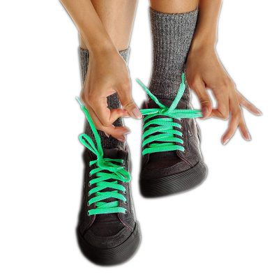 Glow in the Dark Shoelaces Green All Products