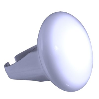 Huge Blink and Glow White LED Light Up Ring White