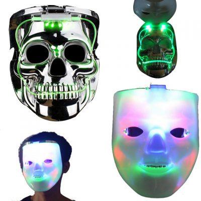 Jabbawockeez Flip to Skull LED Halloween Mask All Products