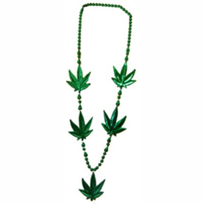 Large Pot Leaf Necklace Pack of 12 420