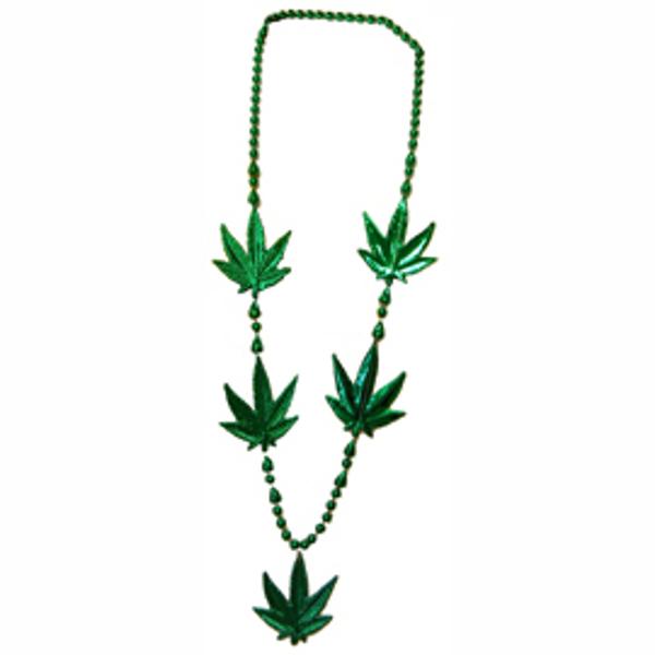 Large Pot Leaf Necklace Pack of 12 420