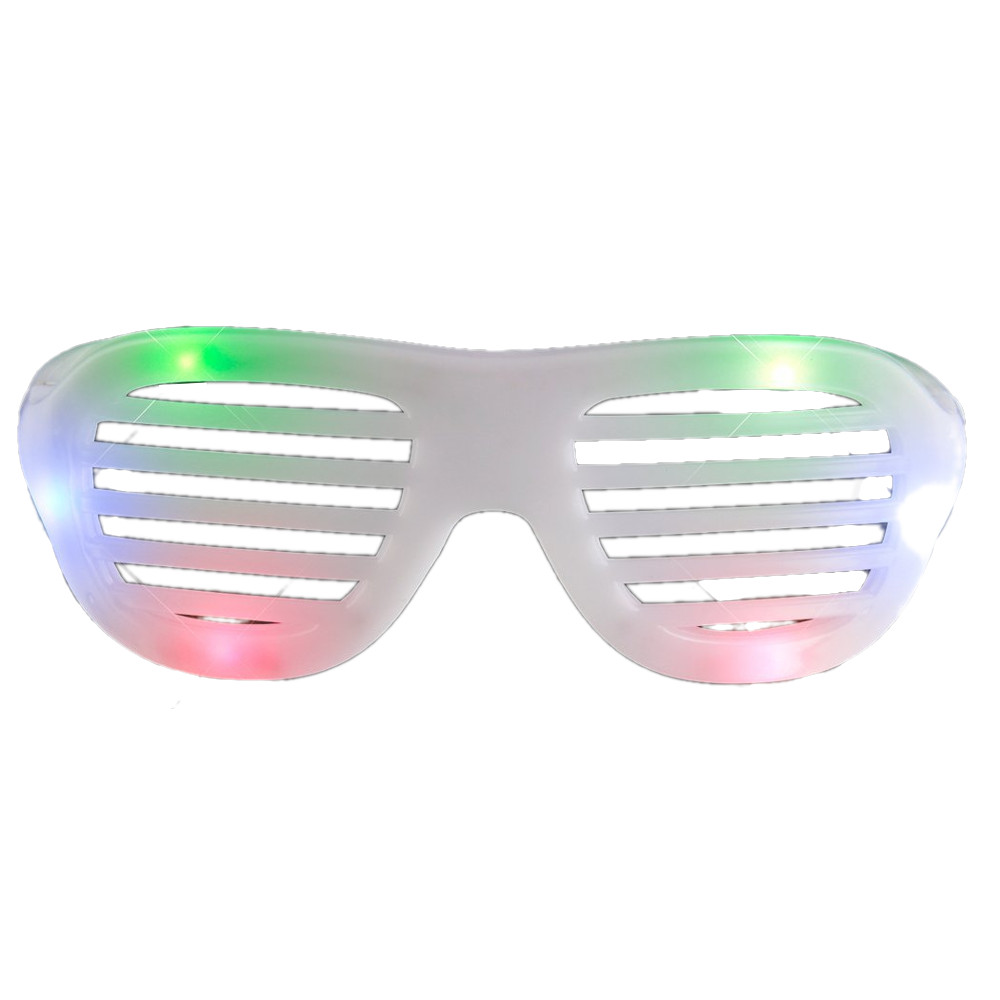 LED Hip Hop Shutter Shades Sunglasses Multicolor All Products
