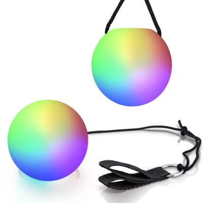 LED Poi Ball 1 Piece Man that Burns Lights
