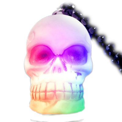 LED Soft Skeleton Skull Bead Necklace All Products