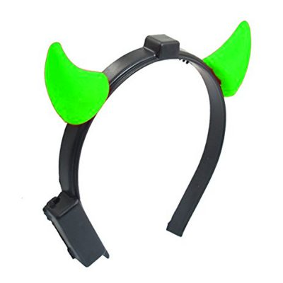 Light Up Devil Horns Green All Products