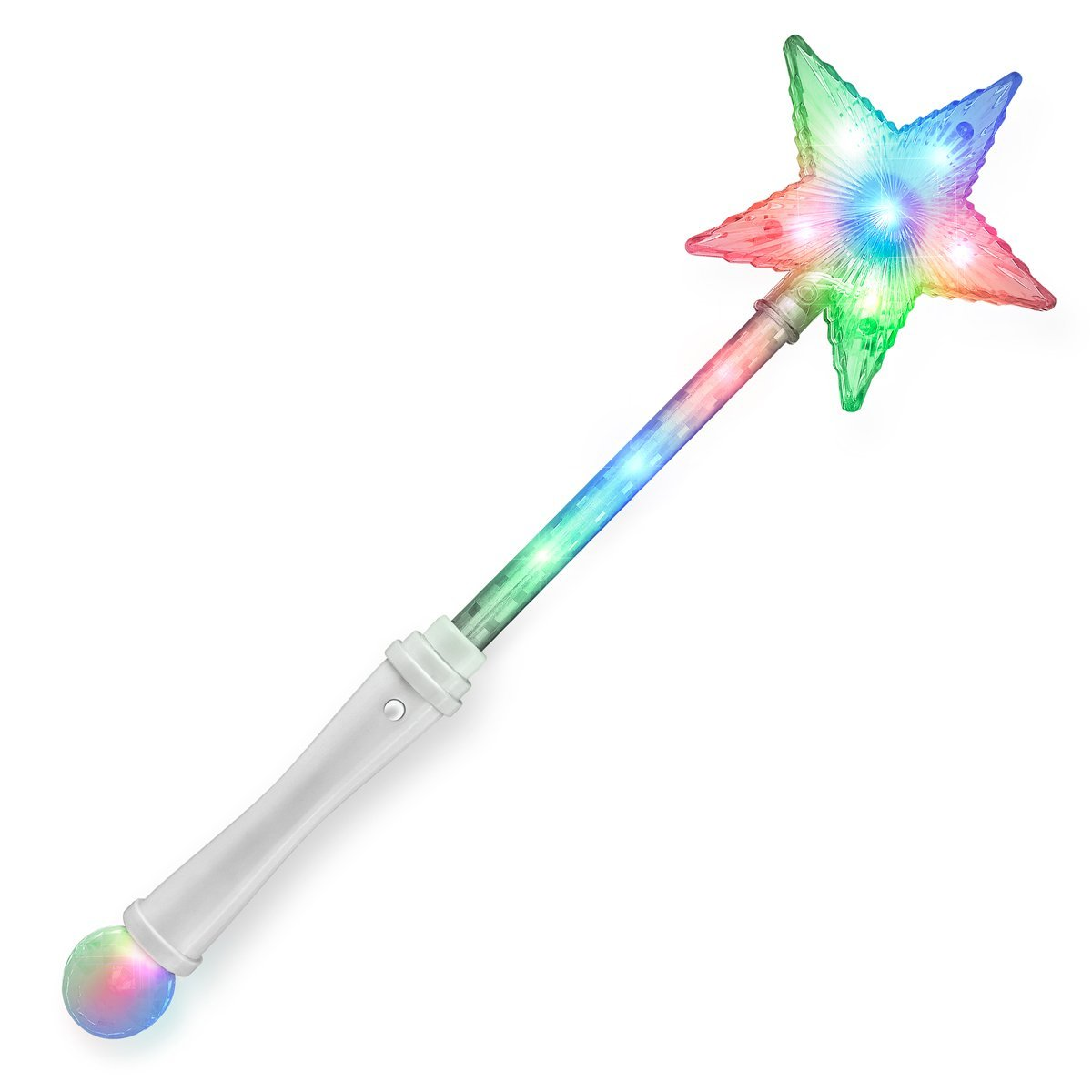 Light Up Star Crystal Wand All Products