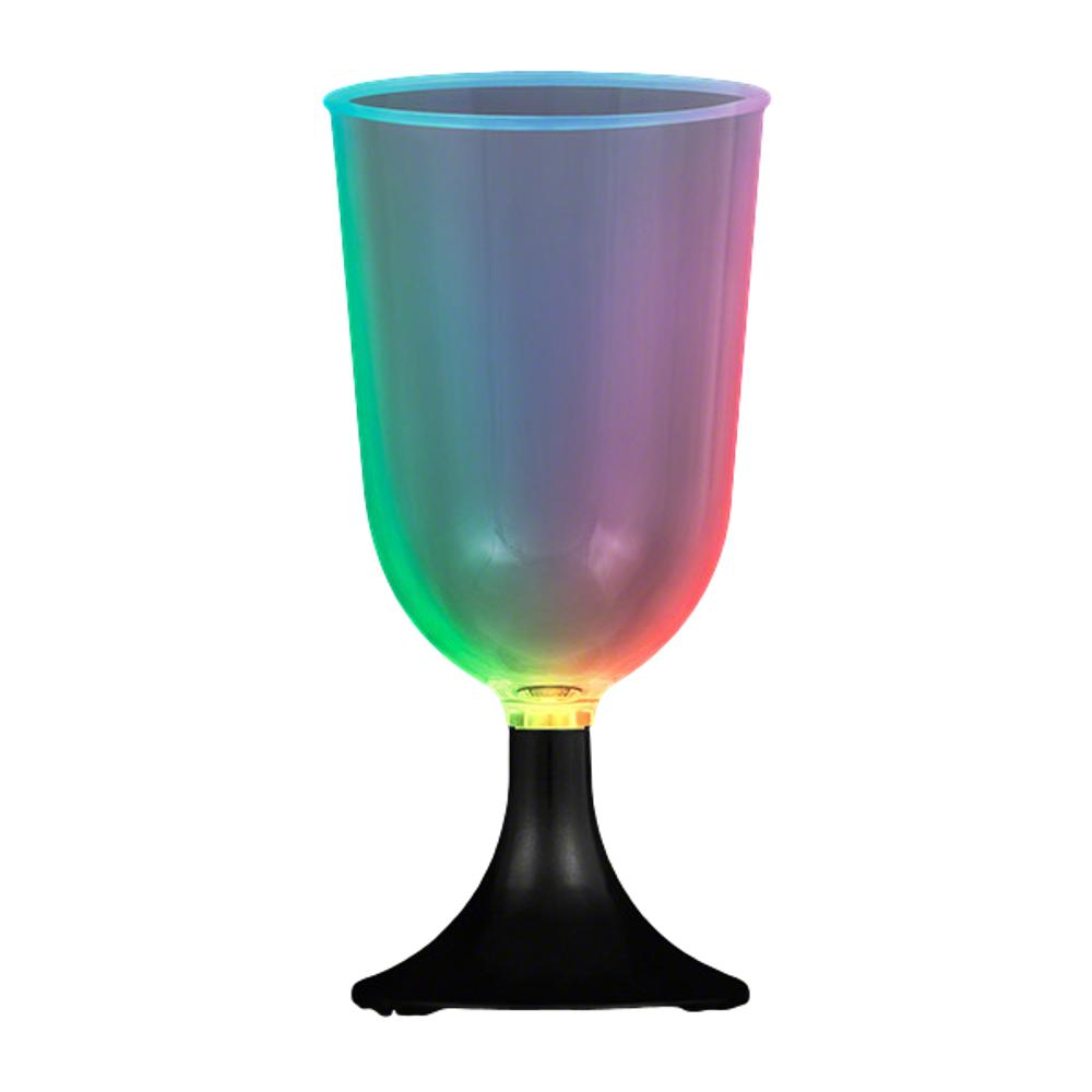 Mini LED Wine Glass with Black Base All Products